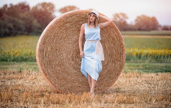 Идеи осенней фотосессии на природе для девушки