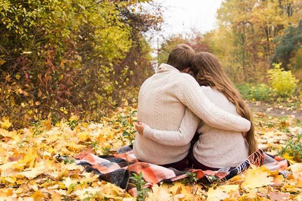 идей для фотосессии осенью