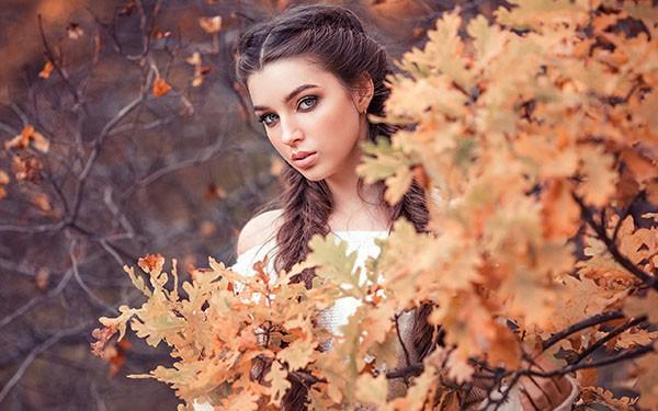 фотосессии на улице осенью