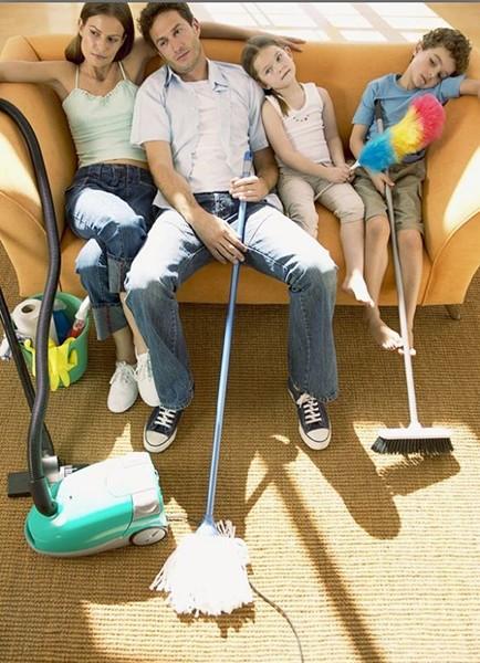 Домашняя фотосессия с ребенком уборка